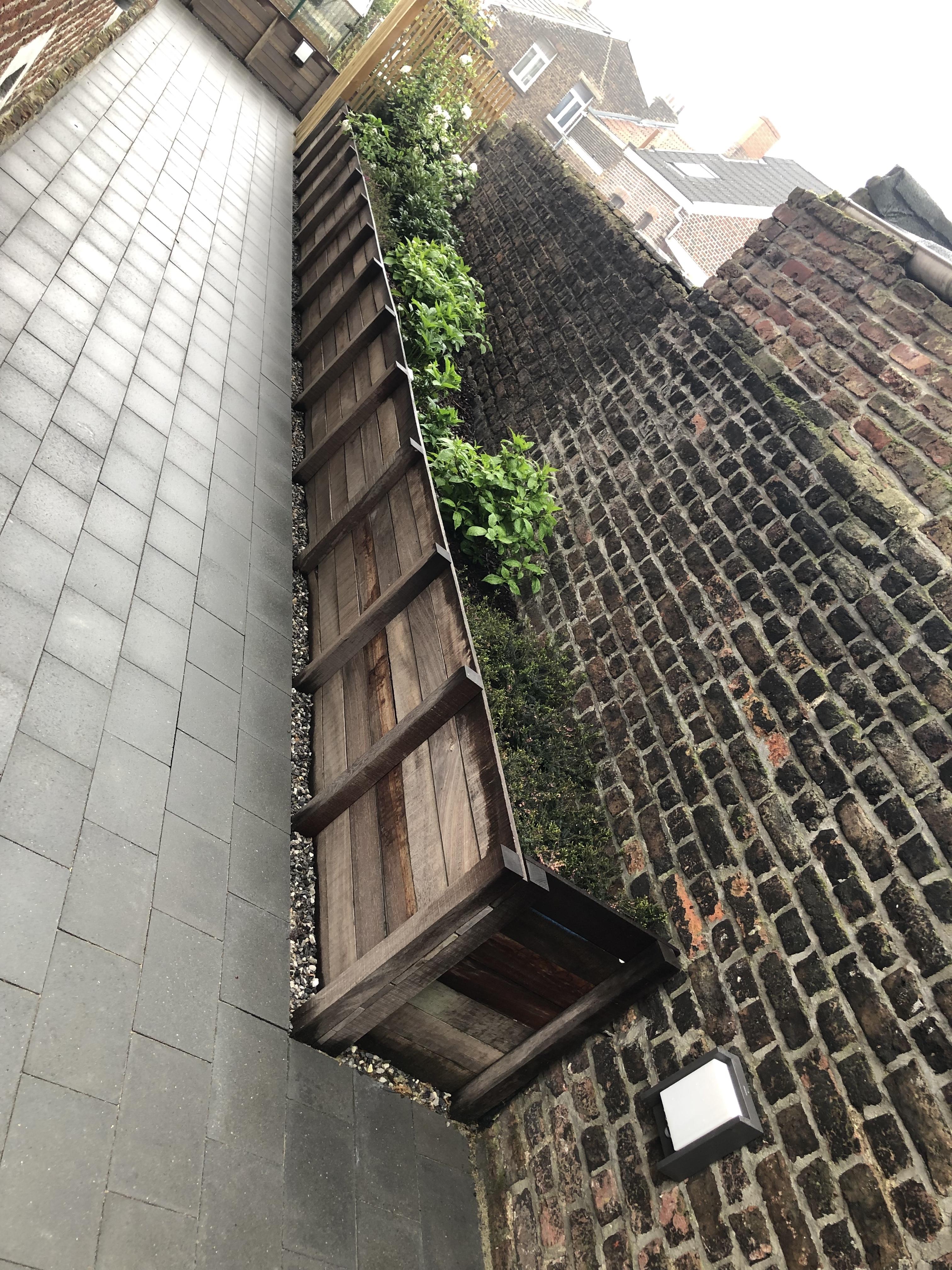 jardin privé a liege