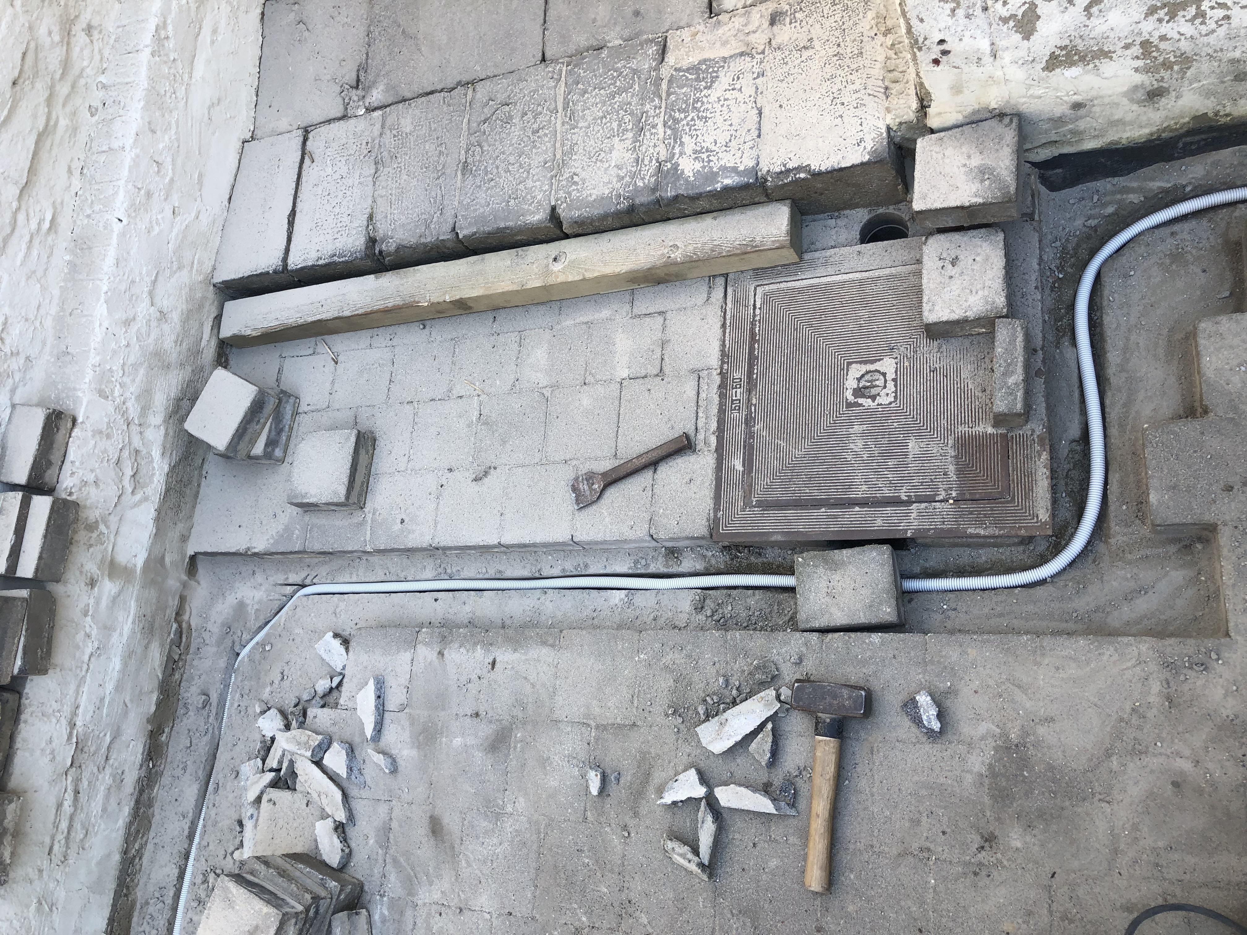 Cablage électricité