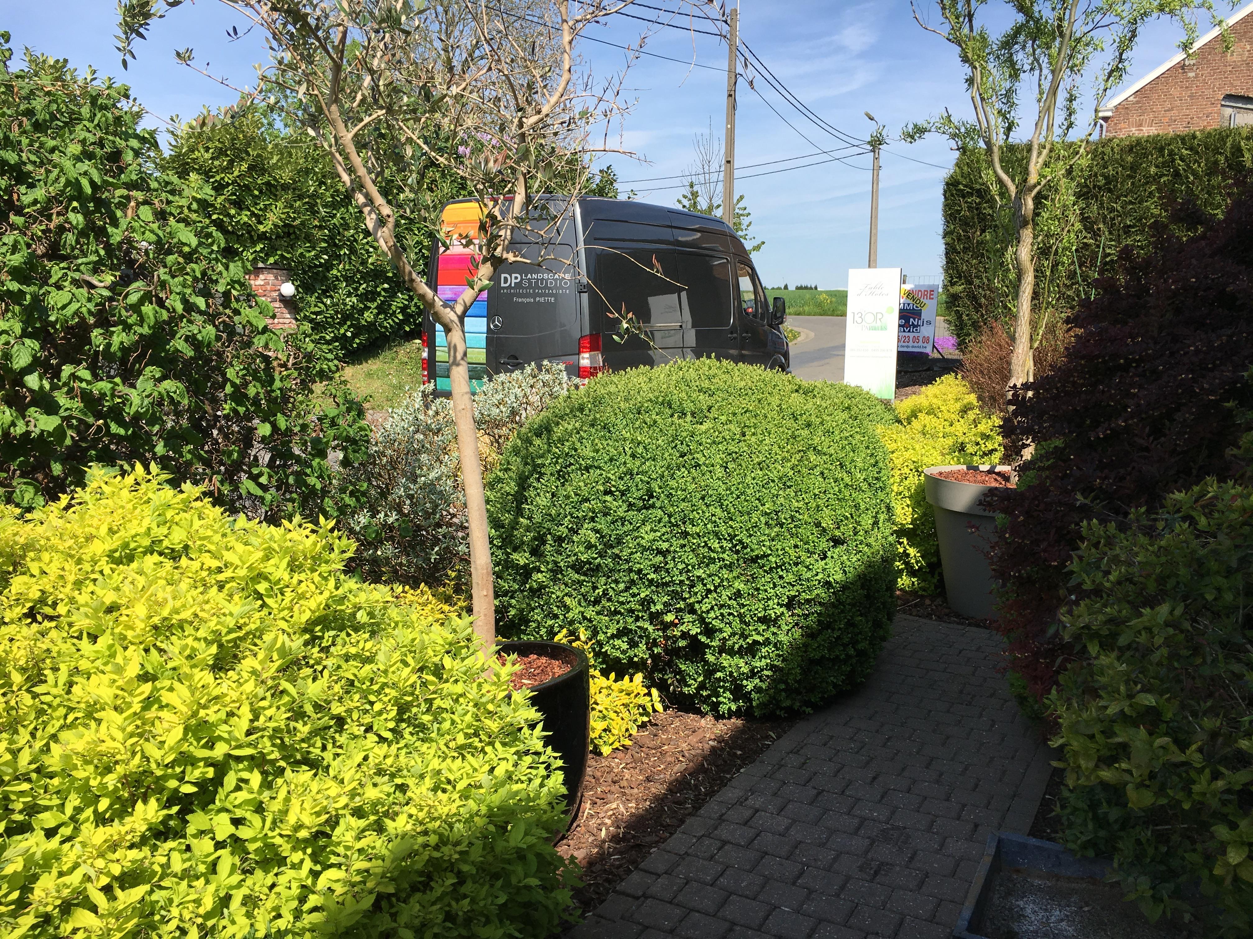 Entretien d'un jardin privé Villers