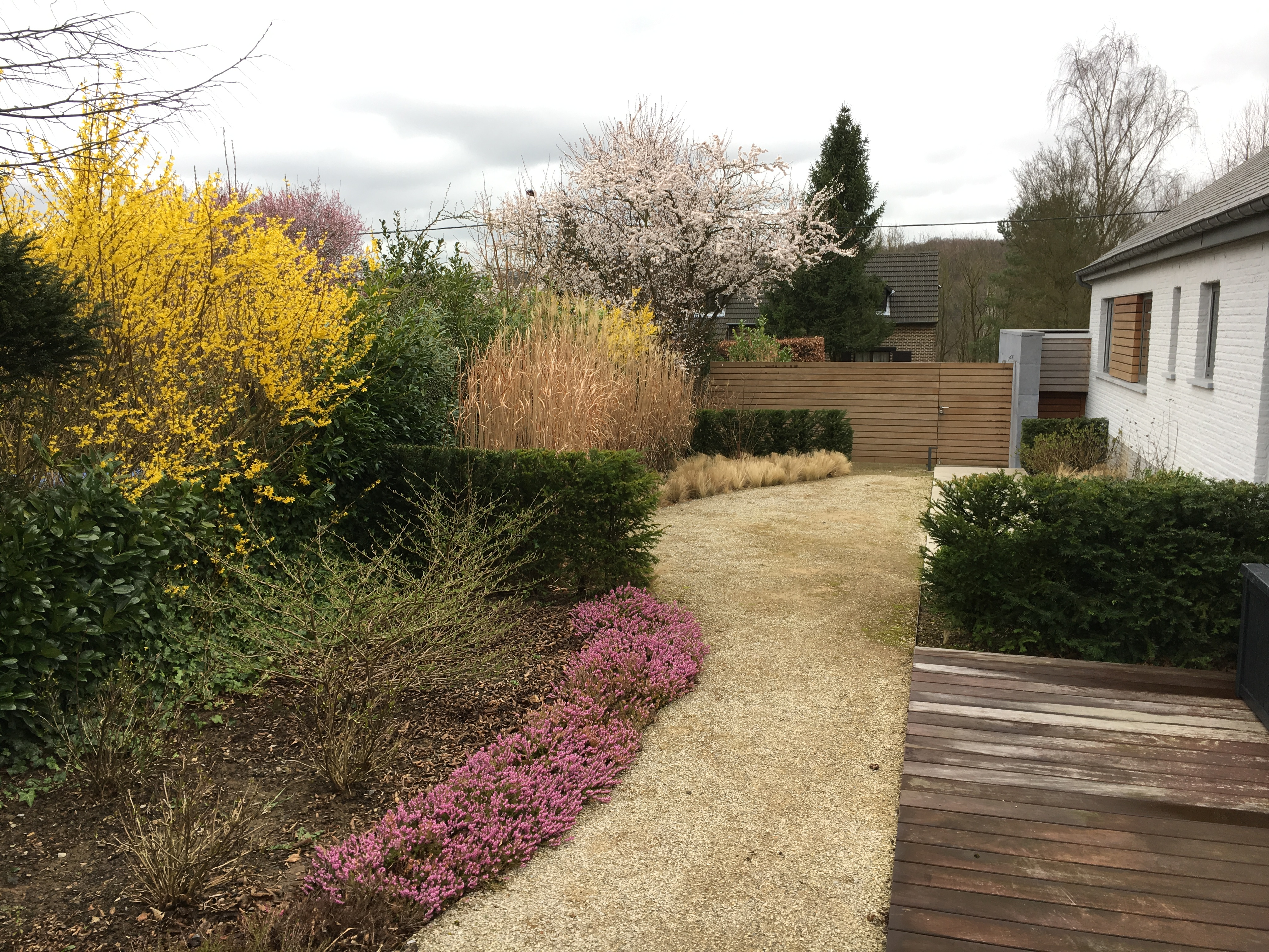 Jardin à Embourg en province Liège