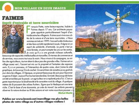 FAIMES - Vu par notre lecteur-reporter - François PIETTE, cet architecte paysagiste