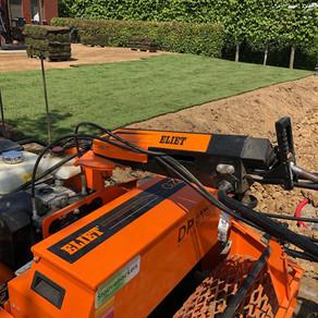 Rénovation d'un jardin