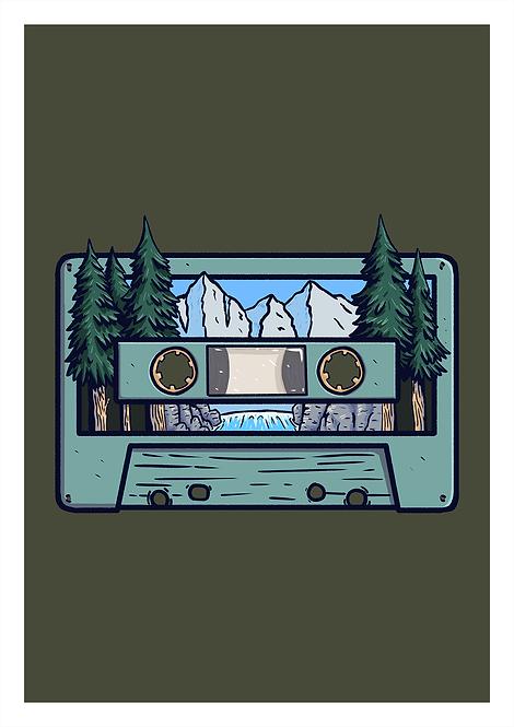 Cassette - Postcard