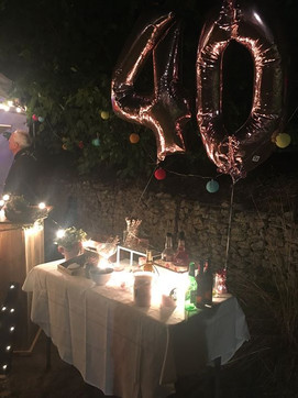 Our Pimp Your Prosecco table