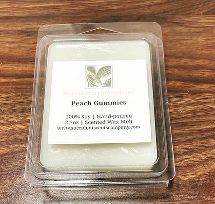 Peach Gummies Wax Melt