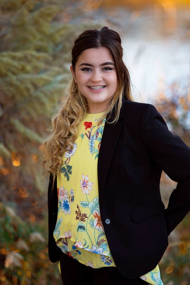 She was named as the Boys and Girls Club of Idaho Youth of the Year.
