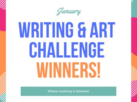 January Challenge Winners