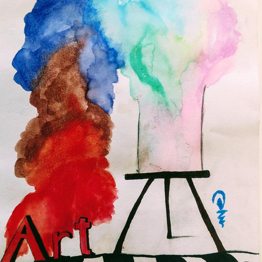 By: BHS Art Winner Daisha Sherman (9th Grade)