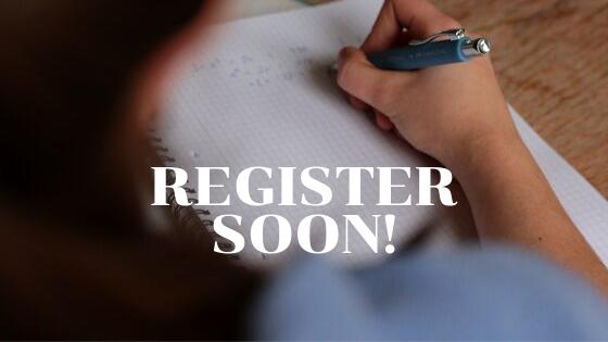 Register Soon!