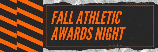 Fall Athletic Awards Night
