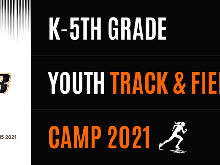 K-5th Grade Youth Track and Field Camp
