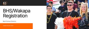 BHS/Wakapa Academy Registration Banner Image