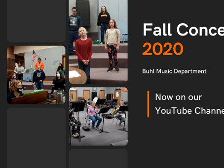 Fall Concert 2020 | Now On YouTube!
