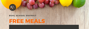 Buhl School District | Free Meals