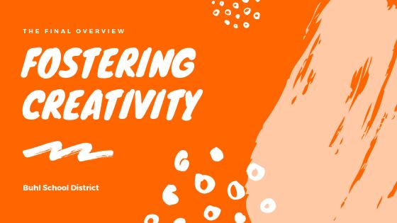 Fostering Creativity Banner