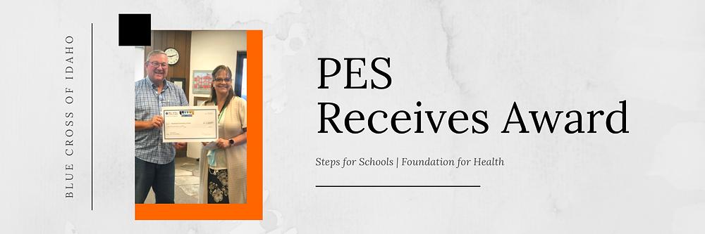 PES Receives Award | Banner Image
