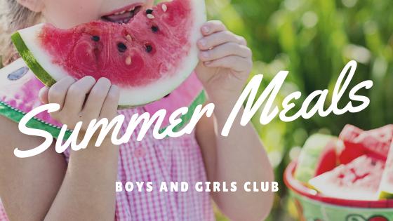Summer Meals Banner