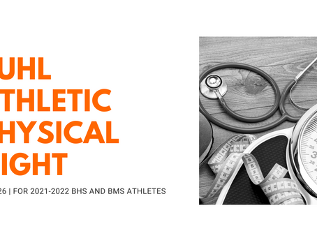 Buhl Athletic Physical Night | May 26