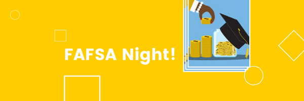 FAFSA Night Banner