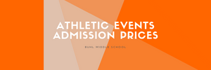Athletic Events Admission Prices