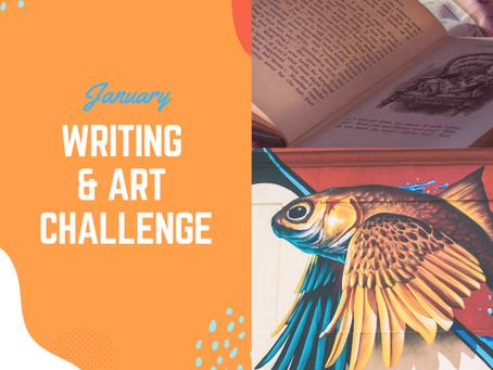 January Writing & Art Challenge