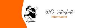 BHS Volleyball Information | Banner Image