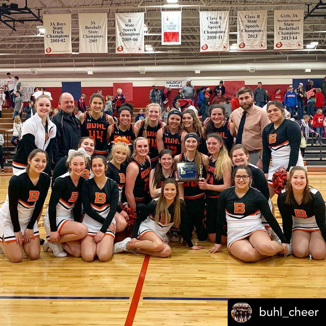 State Bound Girls Basketball Team.