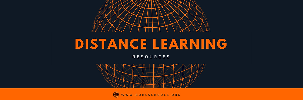 Distance Learning Resources | www.buhlschools.org