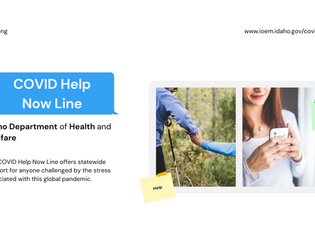 COVID Help Now Line | Eng. & Spa.