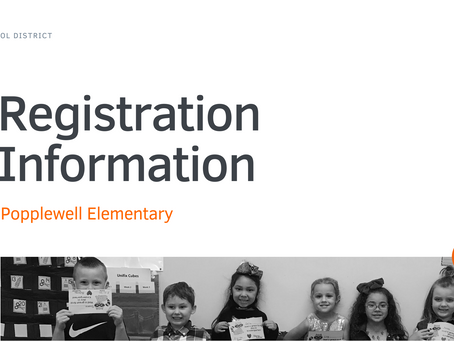 Popplewell Elementary Registration Information 2021-22   ENG & SPA