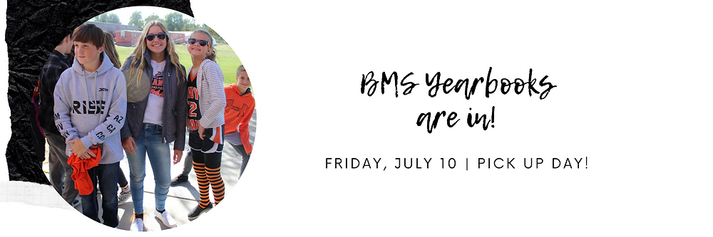 BMS Yearbooks Banner Image