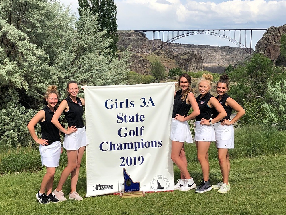 Girls Golf Team State Champions Image