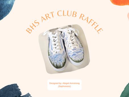 BHS Art Club's Vans Shoe Winners