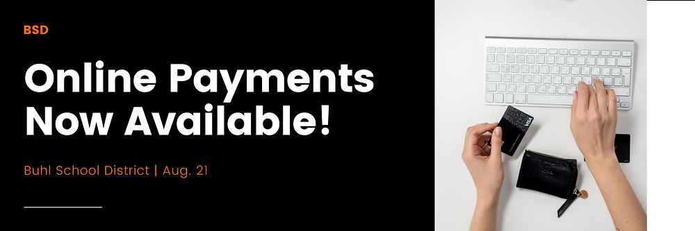 Online Payments Now Available Banner