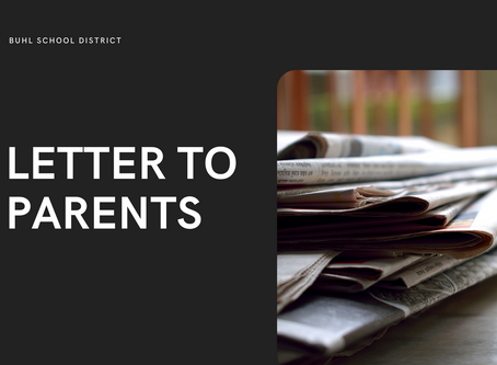 BSD   Letter to Parents - Oct 9
