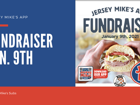 Jersey Mike's Fundraiser for BSD | January 9th!