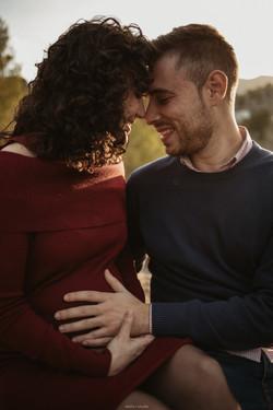 Dobleelestudio fotografia embarazada