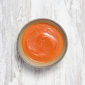 Sopa de beterraba e cenoura
