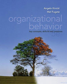Organizational Behavior: Key Concepts, Skills & Best Practices, 5e (book cover)