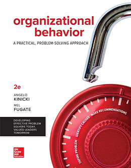 Organizational Behavior: A Practical, Problem-Solving Approach, 2e (book cover)