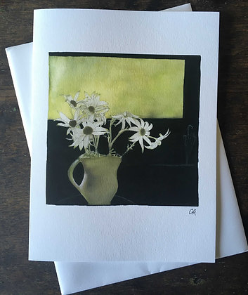 Flannel Flowers I - pack of 5 gift cards