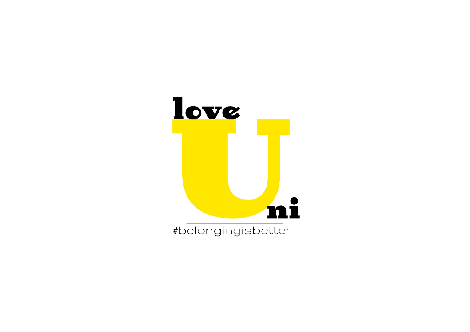 Love Uni website logo & favicon