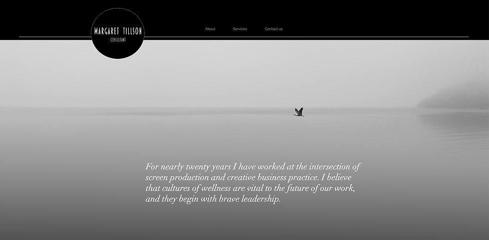 Margaret Tillson website screenshot.jpg