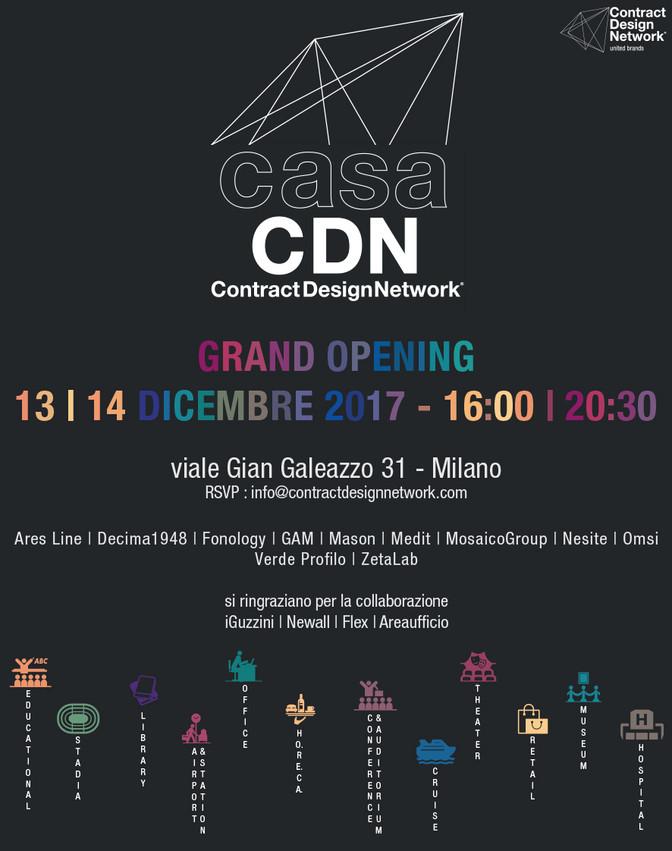 CasaCDN - grand opening in Milan