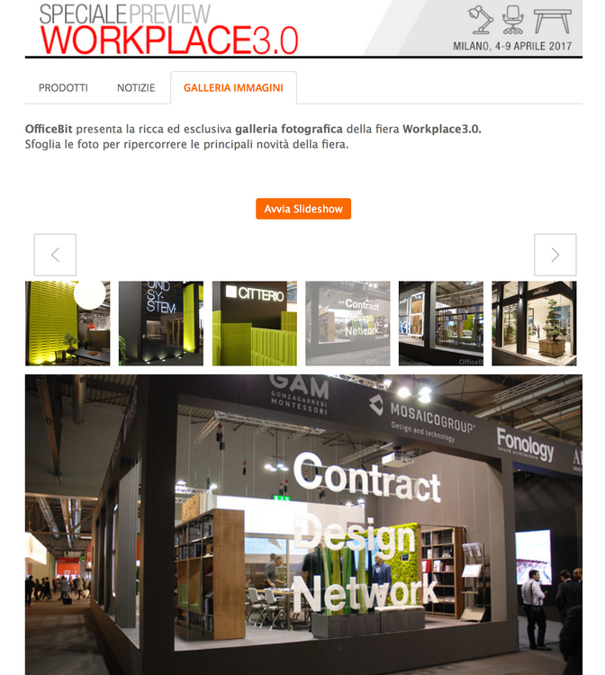 what the web says about us - during and after Salone del Mobile.Milano