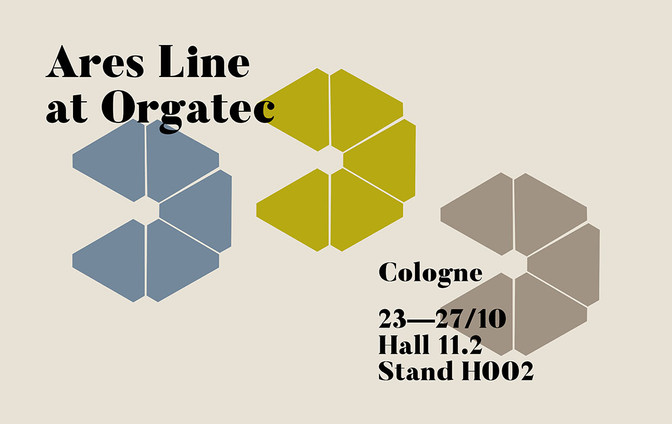Ares Line at Orgatec 2018 - Stand H002 Hall 11.2