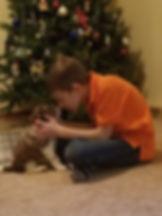 Brennan with puppy.jpg