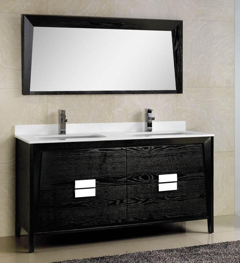 Modern Double Vanity