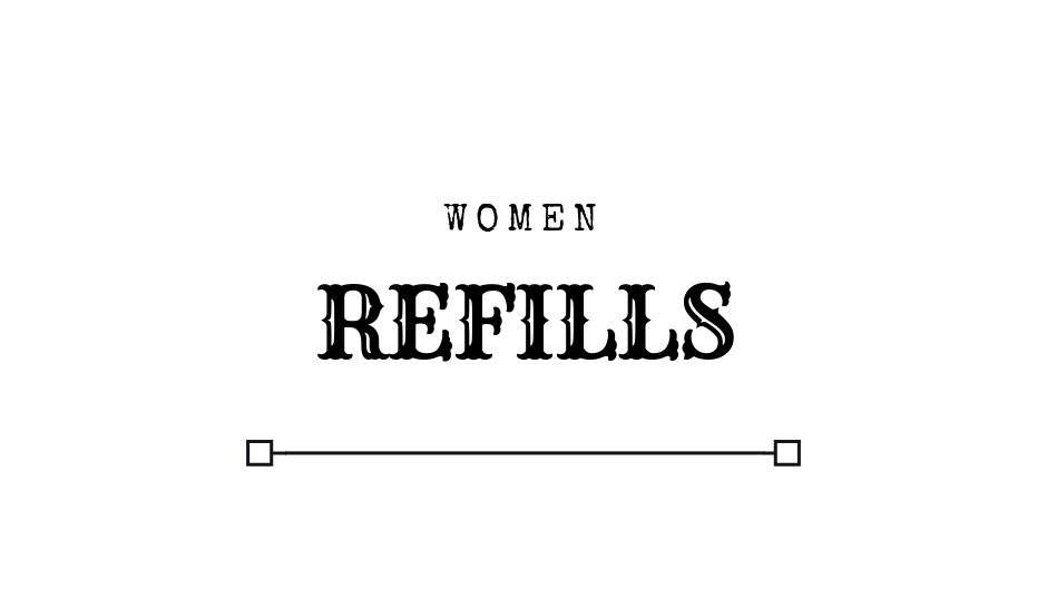REFILLS WOMEN Luxury Designer Inspired Perfume Oil