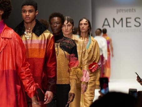 AOD/MBFW collaboration takes Sri Lanka's first international fashion star to BFW!